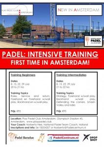 Padel Training Amsterdam